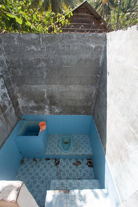The facilities at my bungalow — Gili Trawangan Island, Indonesia