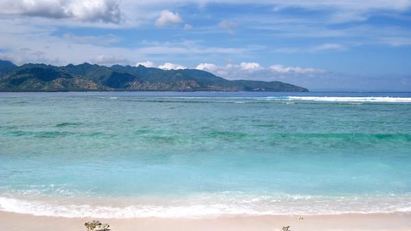 Southern beach — Gili Trawangan Island, Indonesia