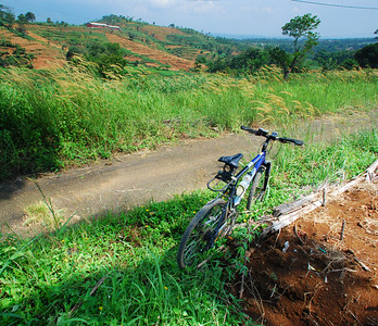 Biking back roads - West Java