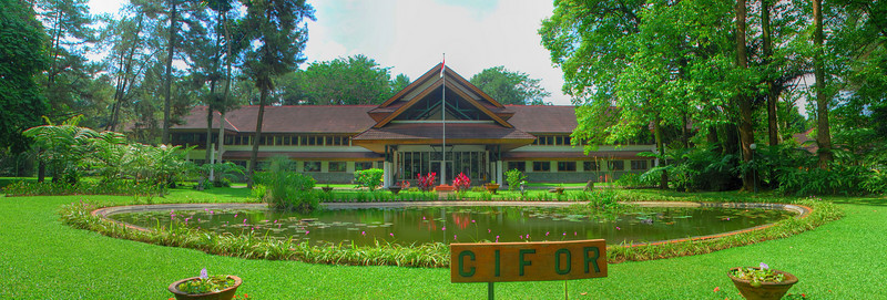CIFOR campus from front