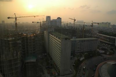 From Hotel Madarin window in Jakarta
