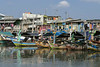 Traditional fishing boats, Sunda Kelapa Harbour, Jakarta, Indonesia