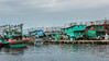 Harbour scene, Pasar Akan fish market, Jakarta, Indonesia
