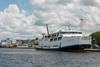 Passenger and vehicle ferry to Semarang, Java, Kumai village, Kalimantan Province, Borneo Island
