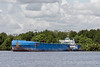Freighter on the Kumai River