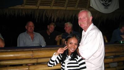 Richard & Yeni @ Richard's Bar — Senggigi, Lombok, Indonesia