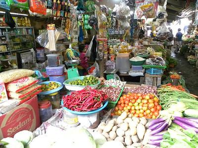 Local market in Manado