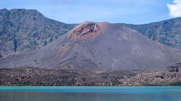 Gunung Baru, the 'New Mountain' — Mt. Rinjani, Lombok, Indonesia