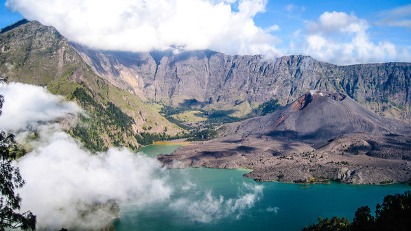 Gunung Baru, the 'New Mountain' — Mt. Rinjani, Lombok, Indonesia