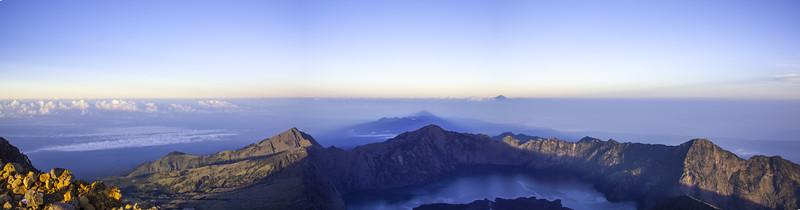 Sunrise from Rinjani, Lombok, Indonesia