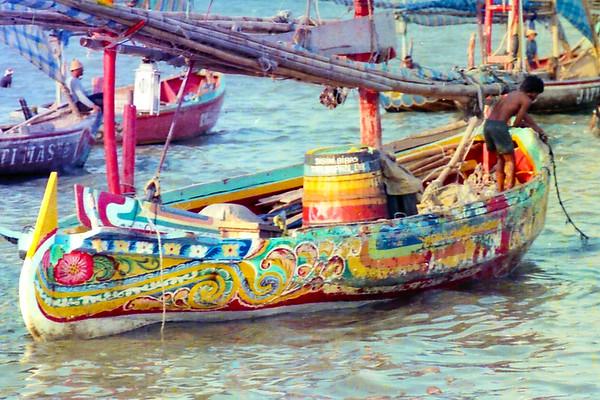 Indonesia: North Coast of Java Fisheries 1983-84