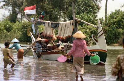 Village scene  Tanjung Sari (?), Pemalang