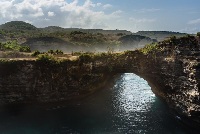 Famous Arch of Nusa Penida