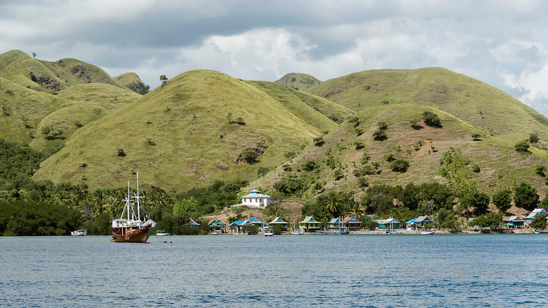 Macang Tanggar seaside village, East Nusa Tengarra, Indonesia