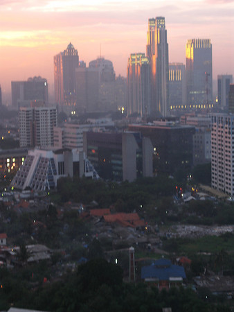 View from My Apt Jakarta