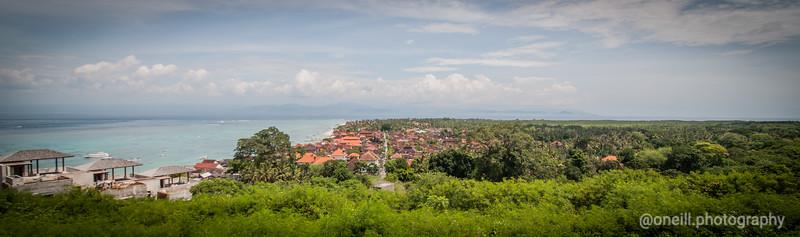 Nusa Lembongan Main Strip