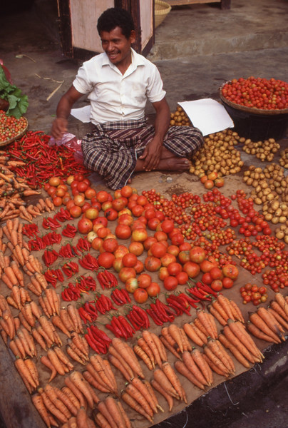 Produce for sale, Ende, Flores, Indonesia.