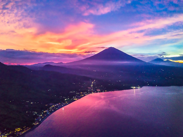Mount Agung Sunset
