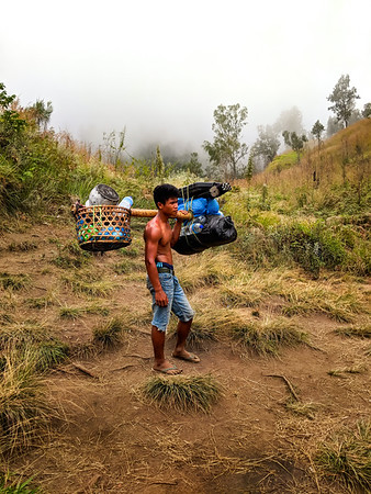 All in a day's work on Mt. Rinjani