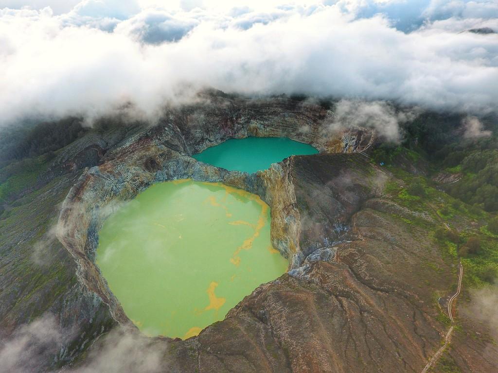 Kelimutu Volcanic Crater