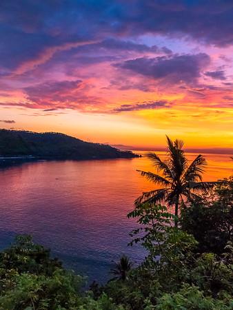 Last Light over Lombok