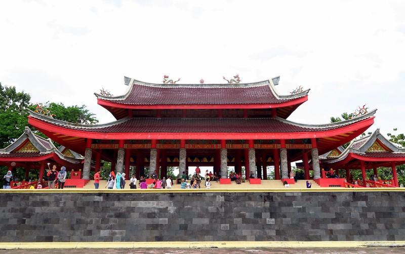 Sam Poo Kong Temple in Semarang