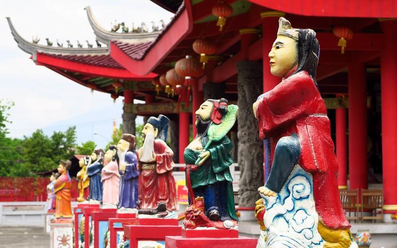 Visiting Sam Poo Kong Temple