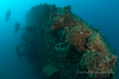 Shinwa Maru Wreck Manokwari Cenderawasih Bay Indonesia