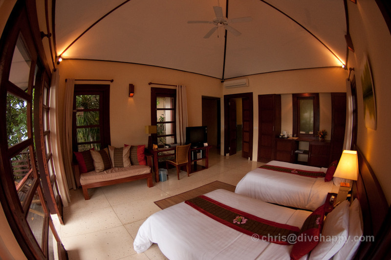 Superior Room Kasawari Resort, Lembeh Strait, Indonesia