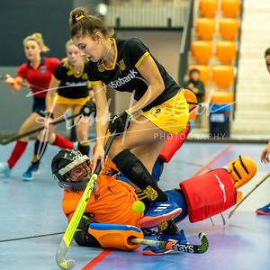 20190202 NK Zaalhockey  Topsportcentrum Rotterdam