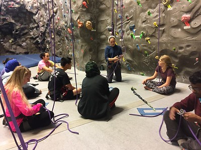 Indoor Rock Climbing 30Oct16