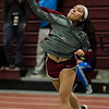 Fitchburg's Judy Duong competes in the shot put during the track meet at Fitchburg High on Saturday, February 11, 2017. SENTINEL & ENTERPRISE / Ashley Green