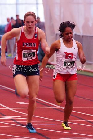 Ivy League Women's 60m Trials