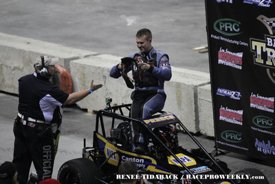 Trenton Indoor Racing Inaugural - Reneé Tidaback