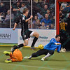during a regular season Major Arena Soccer League (MASL) game between the St, Louis Ambush and the Wichita B-52's  played at the Family Arena in St. Charles, MO., where Wichita defeats St. Louis by the score of 9-8 in overtime