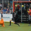 Wichita B-52s midfielder JOHN MARKEY (10) scores on a bicycle kick in overtime during a regular season Major Arena Soccer League (MASL) game between the St, Louis Ambush and the Wichita B-52's  played at the Family Arena in St. Charles, MO., where Wichita defeats St. Louis by the score of 9-8 in overtime