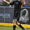 St. Louis Ambush forward BLAKE ORDELL (81) doesn't know what to say after his pass deflects off a Wichita player into the net during a regular season Major Arena Soccer League (MASL) game between the St, Louis Ambush and the Wichita B-52's  played at the Family Arena in St. Charles, MO., where Wichita defeats St. Louis by the score of 9-8 in overtime