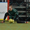St. Louis Ambush goalie ALAN HAGERTY (0) during a regular season Major Arena Soccer League (MASL) game between the St, Louis Ambush and the Tacoma Stars played at the Family Arena in St. Charles, MO., where St. Louis defeats Tacoma by the score of 13-3