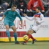 during a regular season Major Arena Soccer League (MASL) game between the St, Louis Ambush and the Missouri Comets played at the Family Arena in St. Charles, MO., where Missouri Comets defeat St. Louis by the score of 10-5