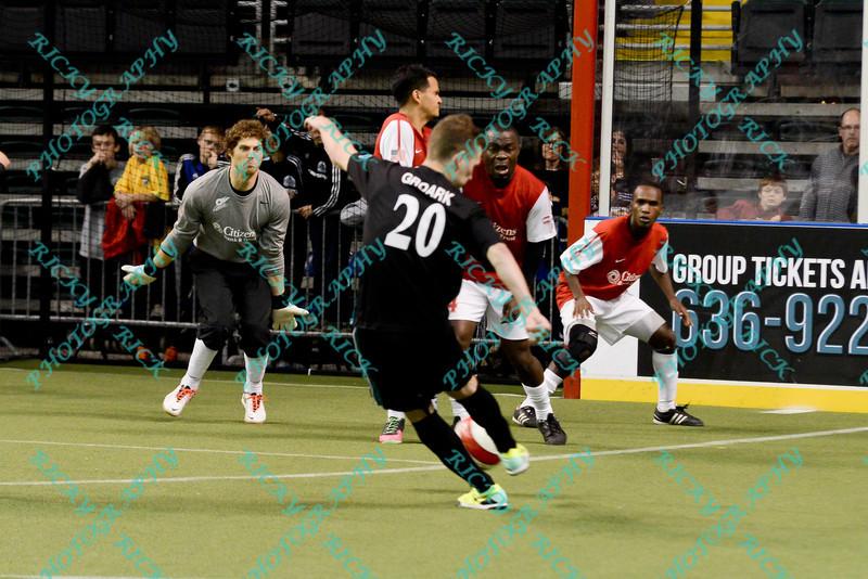 MISL 2013 - Missouri defeats St. Louis 28-7