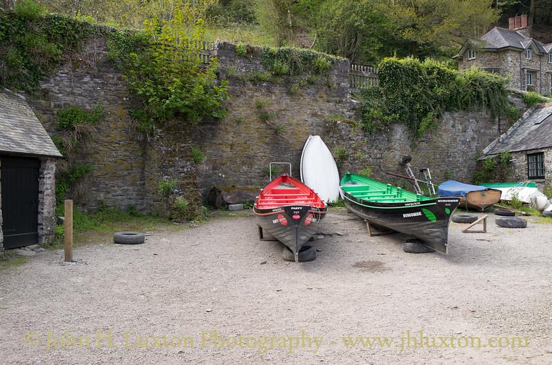 Cotehele Quay, River Tamar, Cornwall - April 20, 2017