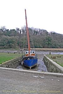Cotehele Quay, River Tamar, Cornwall - March 31, 2013