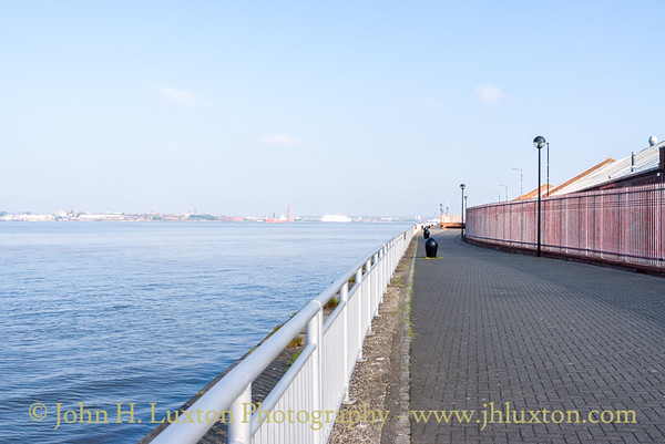 Harrington Dock, Harrington River Wall, Liverpool - May 04, 2020