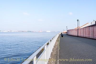 Harrington Dock, Harrington River Wall, Liverpool - May 04, 2020