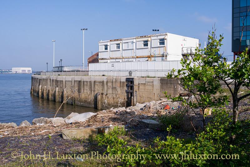 Herculaneum Dock, Herculaeum River Entrance, Liverpool - May 05, 2020
