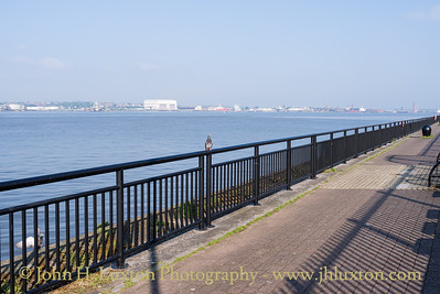 Toxteth Dock, Toxteth River Wall, Liverpool - May 04, 2020