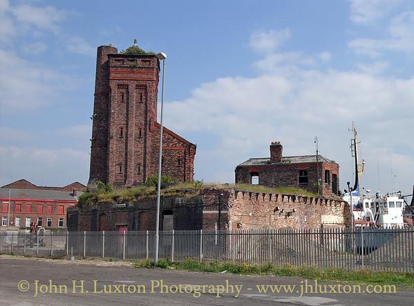 Hydraulic Tower, Bramley Moore Dock, Liverpool - June 10, 2006