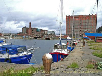 A view across Collingwood Dock to the Stanley Tobacco Warehouse - August 24, 2004.