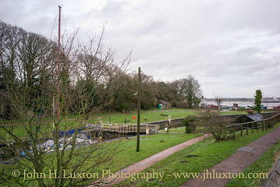 Lydney Harbour - Gloucestershire - December 31, 2017