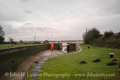 Lydney Harbour - Gloucestershire - December 31, 2017